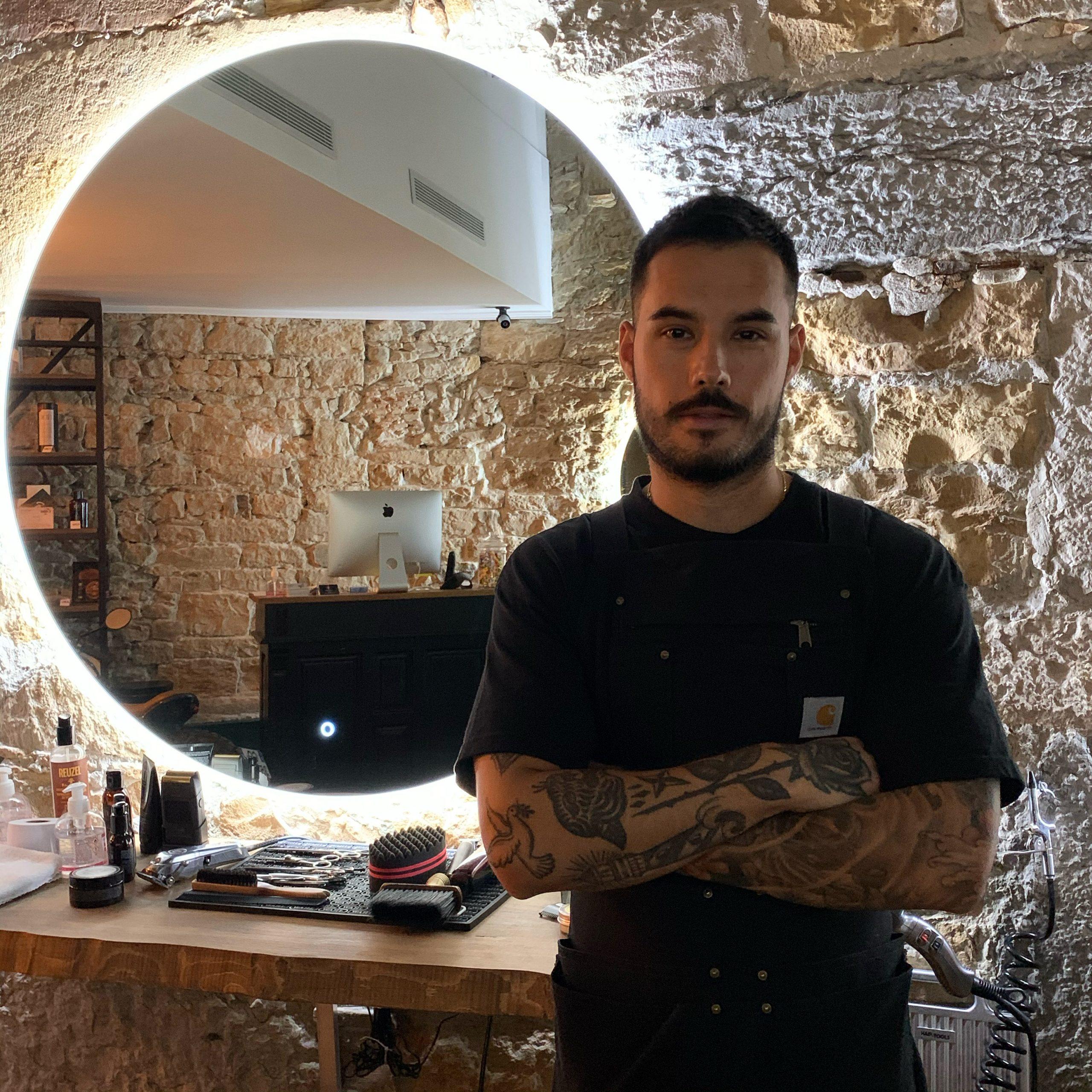 Azz coiffeur Casa Barbershop Lyon