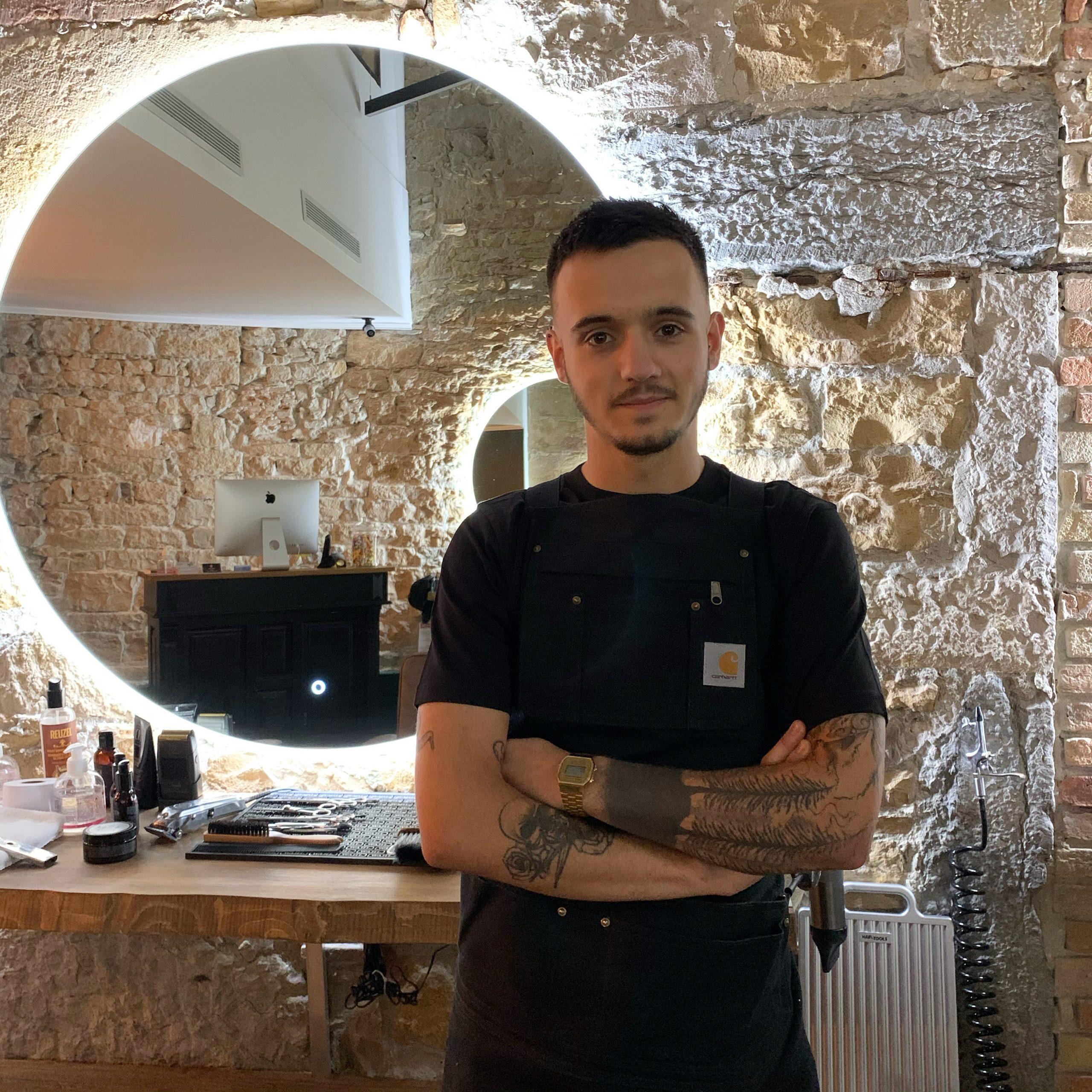 Florian barbier Casa Barbershop Lyon