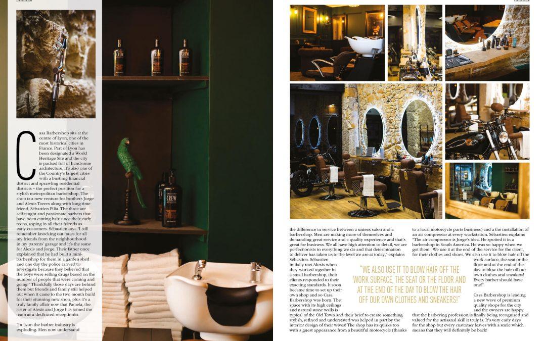 Casa Barbershop sur Modern Barber le magazine